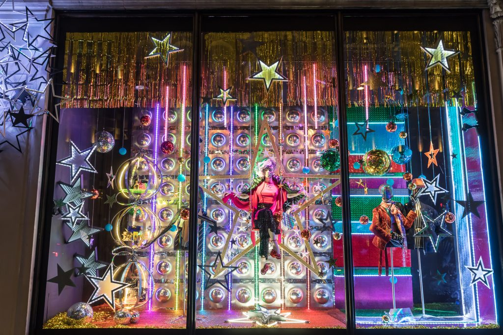 Harvey Nichols Christmas Window Dispplay 2017