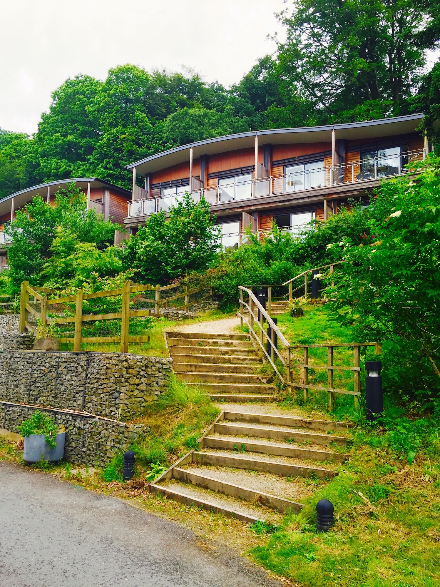 The Corwall cabin lodges