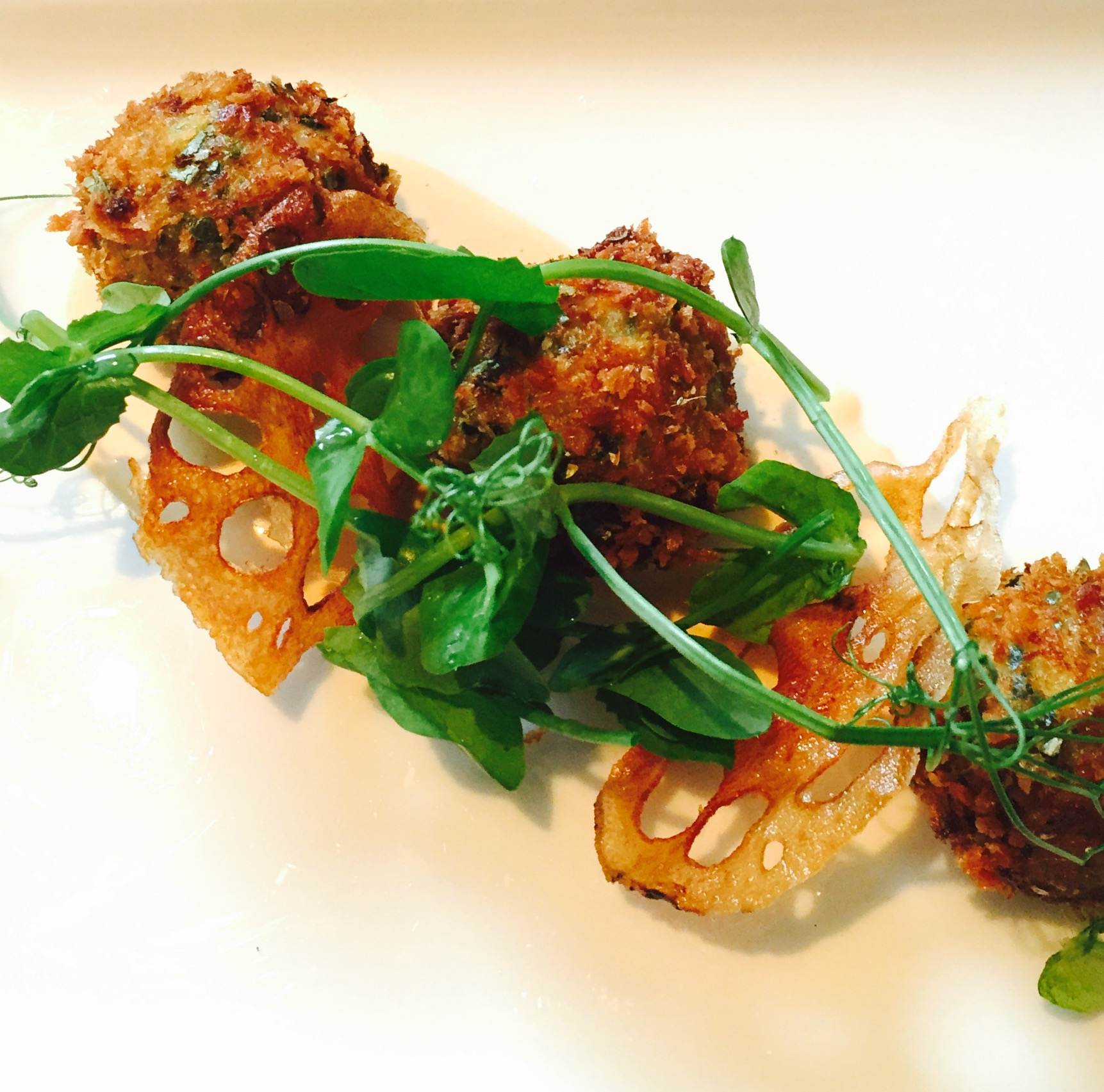The cornwall crab cakes