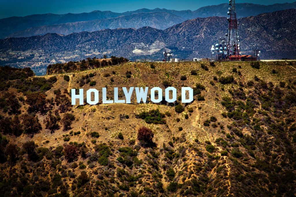 American authors and their greatest novels: Hollywood sign