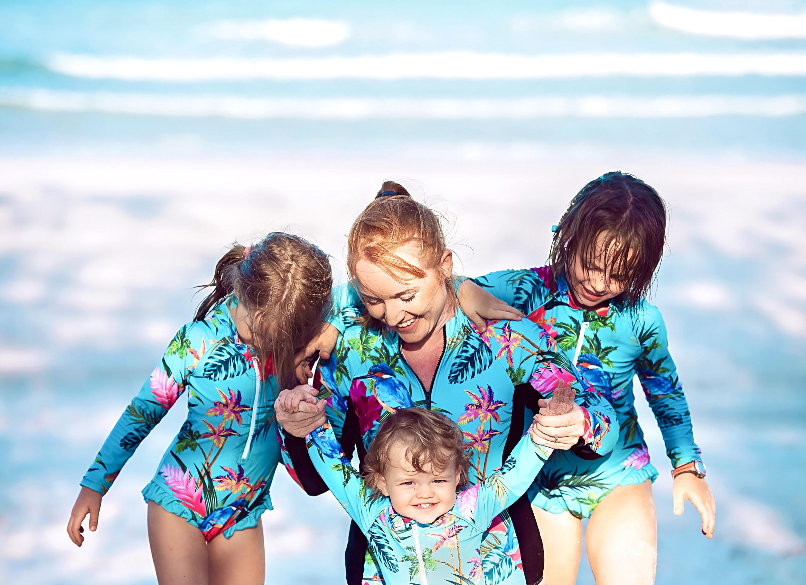 Tribe Tropical Founder Emily Gradon and children 1 (2)