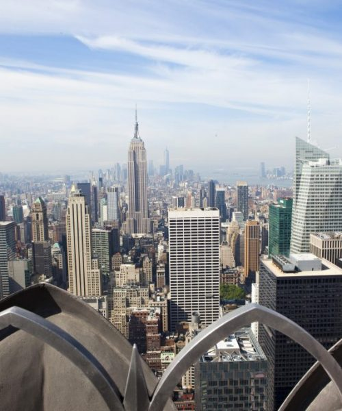 New York observation decks: Top of the Rock
